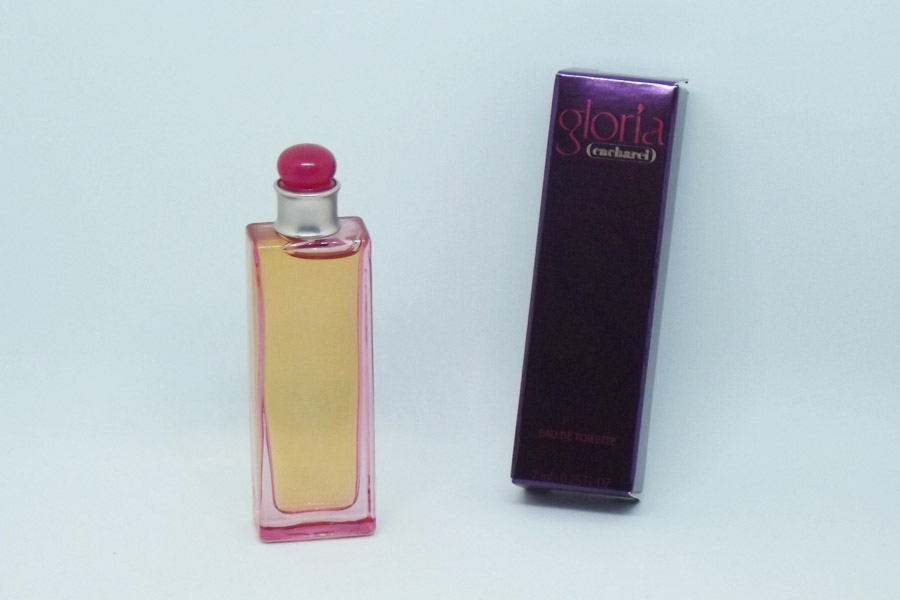 Gloria Eau de toilette 7 ml plein de Cacharel